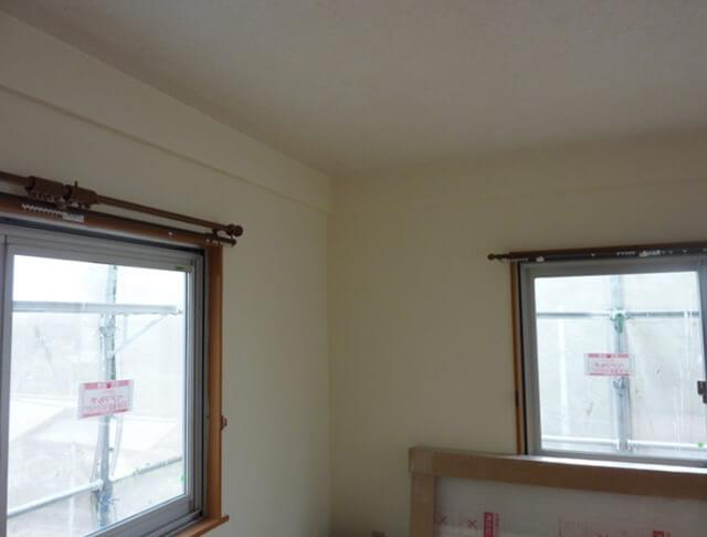 窓サッシの交換補修工事の仕上がった状態