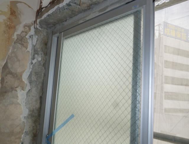 窓サッシの交換補修
