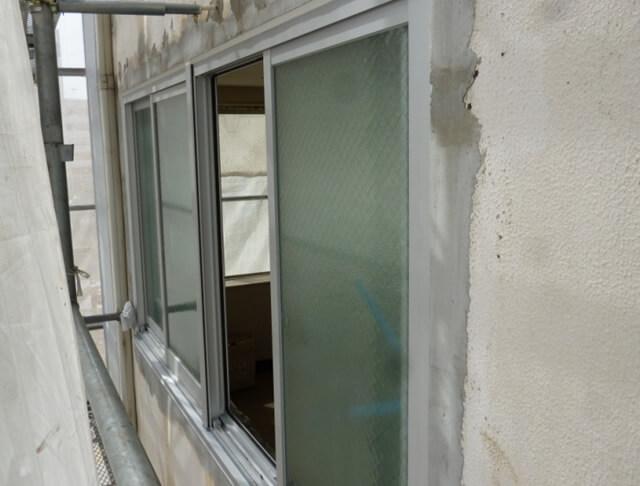 窓サッシの交換補修工事後
